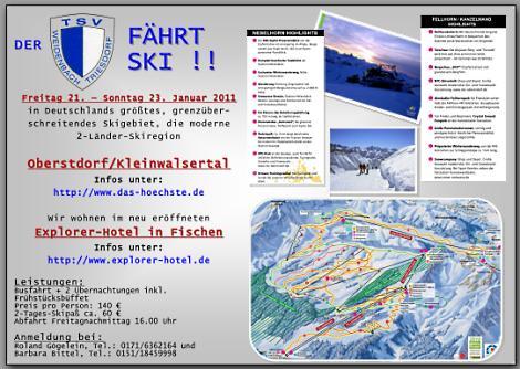 TSV-Skifahrt 2011