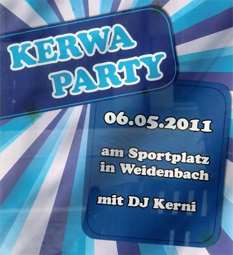 Kerwa-Party 2011