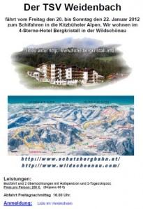 TSV-Skifahrt 2012